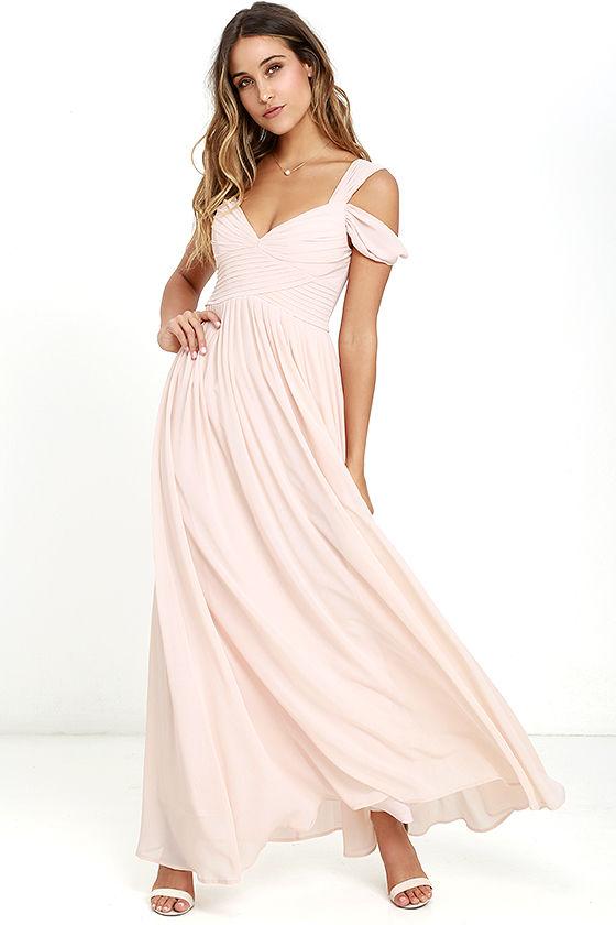 Lulus blush dress