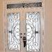 Wrought Iron & Decorative Glass Door Inserts