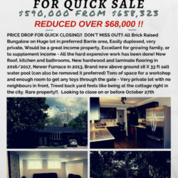 reducedfor quick sale287 HURONIA