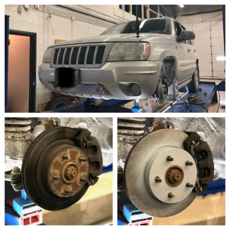 Jeep brakes repair