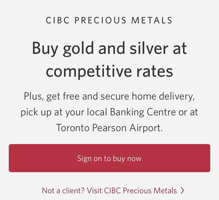 buy gold barrie